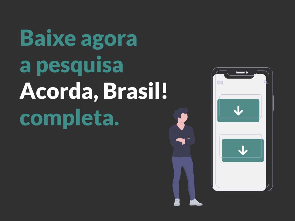 Baixe a Pesquisa Acorda Brasil sobre os hábitos de sono do Brasileiro